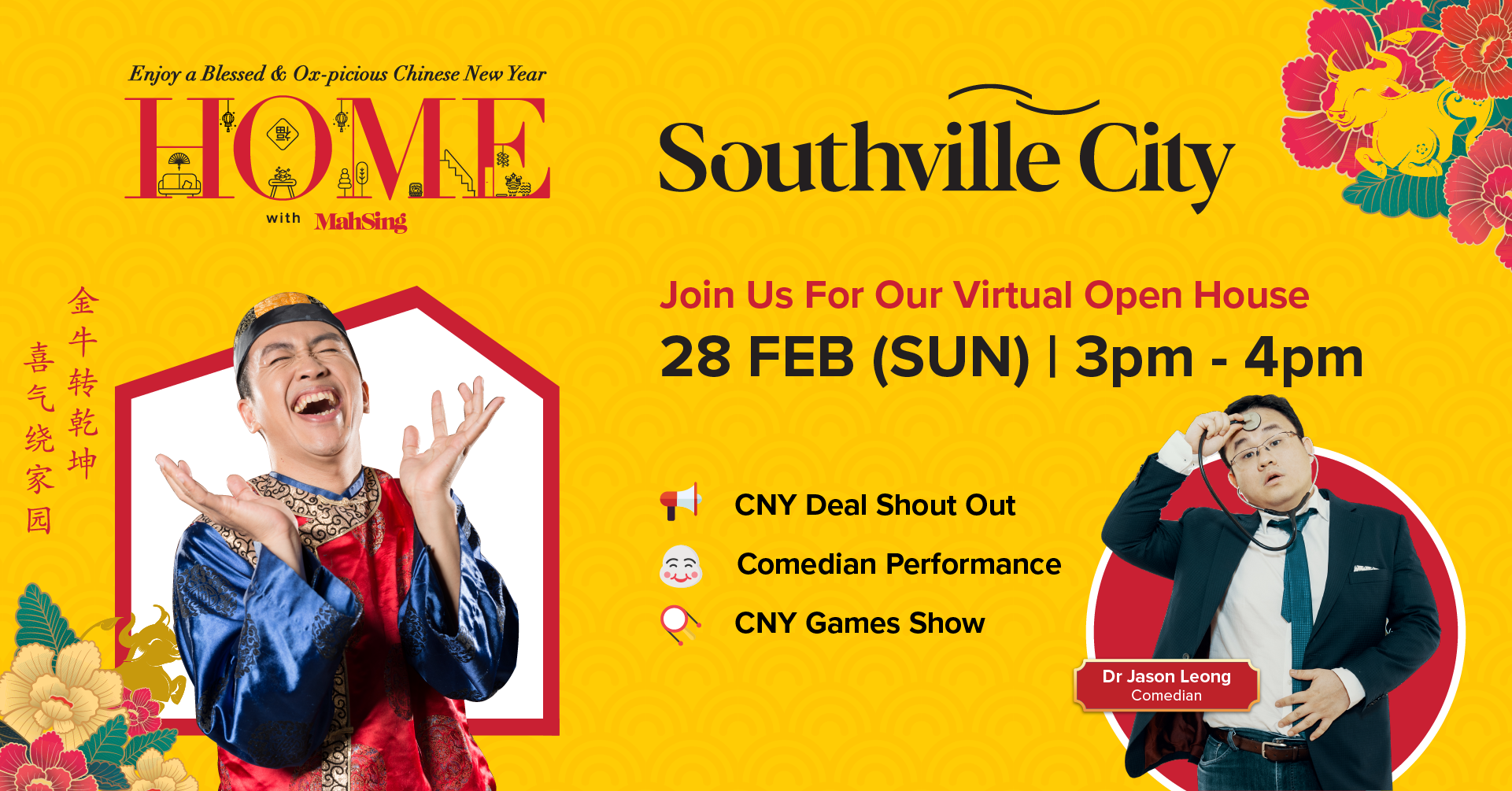 CNY Virtual Open House with Southville City